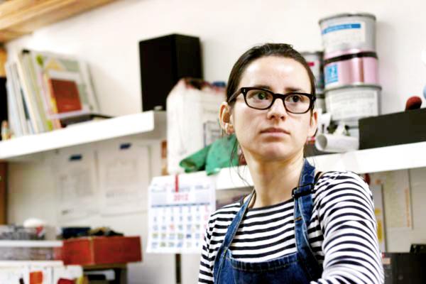 El taller de María José Prenafeta, una Obrera Gráfica 2
