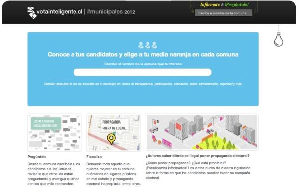 Vota Inteligente: información sobre las Elecciones Municipales 2012 3
