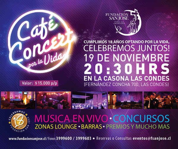 Café Concert Fundación San José 3