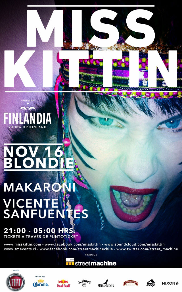 Miss Kittin en la Blondie 3
