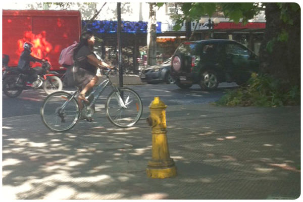 Quiero ciclovías para recuperar las veredas 3