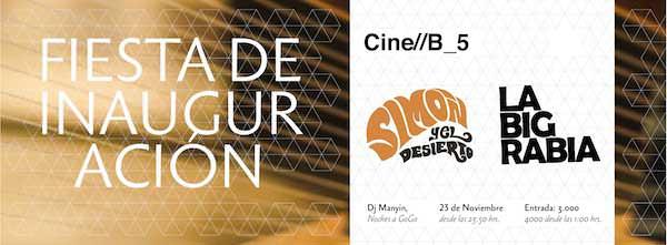 Fiesta Inauguración Festival de Cine B 1