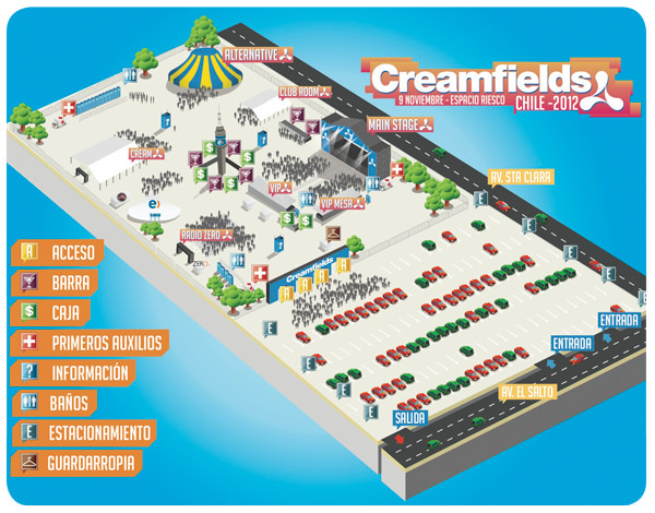 Concurso Creamfields 2012! Se viene la 9º versión 6