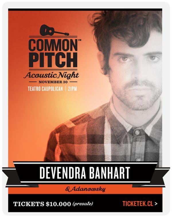 Devendra Bahnhart en el Teatro Caupolicán el 30 de noviembre 3