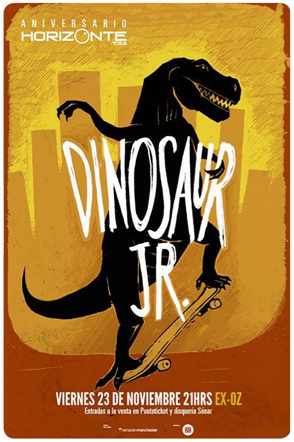 Dinosaur Jr. tiene side show! 3