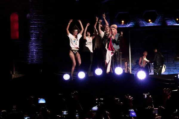 Lady Gaga en Chile, el mejor show  2