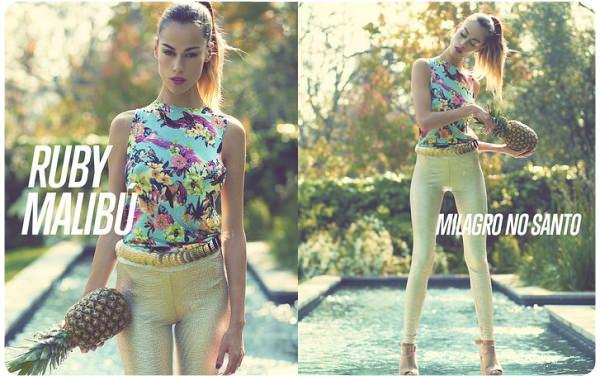 La ropa tropical de Milagro No Santo 1