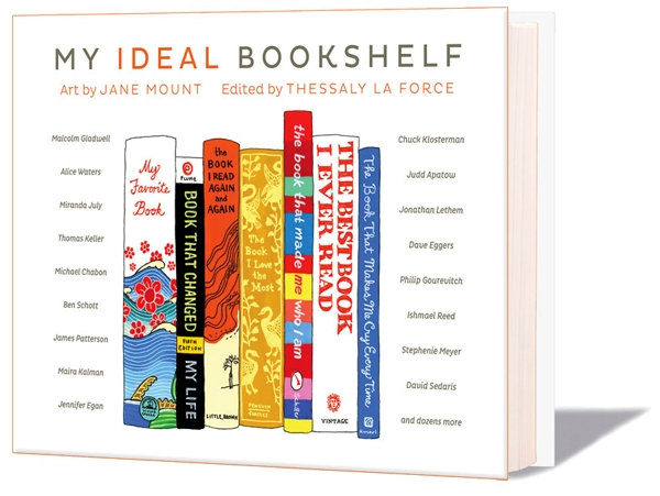 """My ideal bookshelf"", el librero ideal ilustrado 3"
