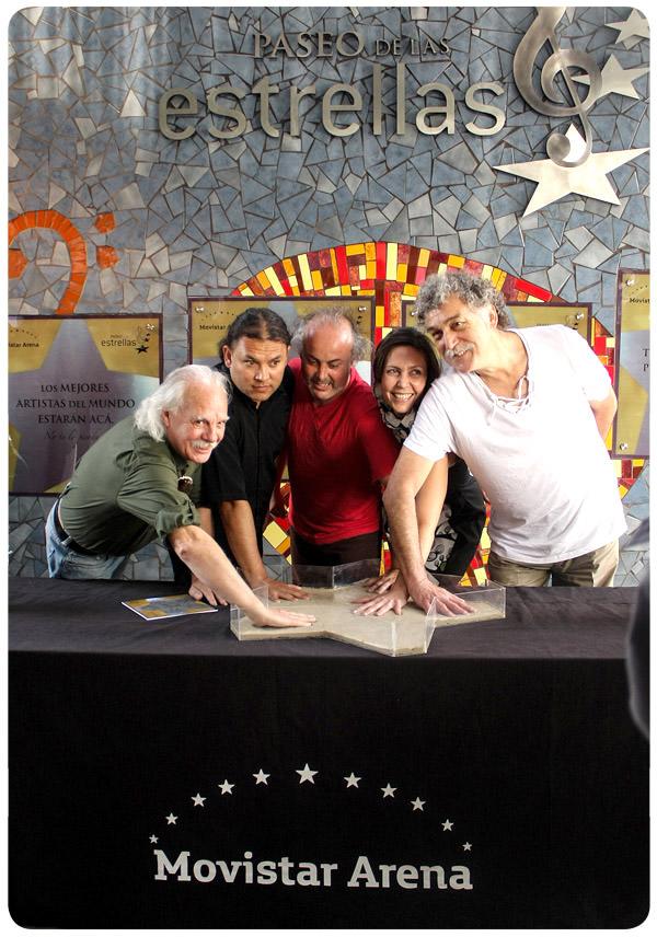 Paseo de las estrellas en Movistar Arena  3