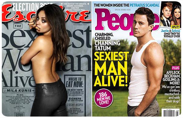 Mila Kunis y Channing Tatum, los más sexys del año  3