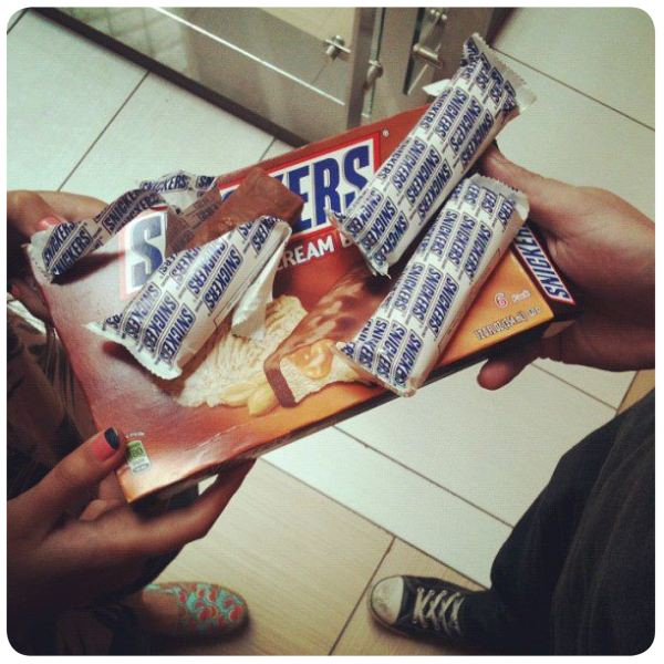 Nuevos helados Twix y Snickers, los quiero! 3