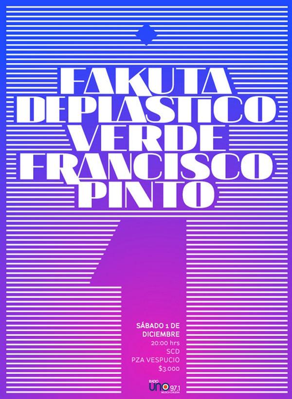 Concierto Fakuta, Deplasticoverde y Francisco Pinto 1