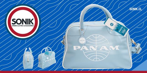 Sonik estrena línea de bolsos Pan Am  1