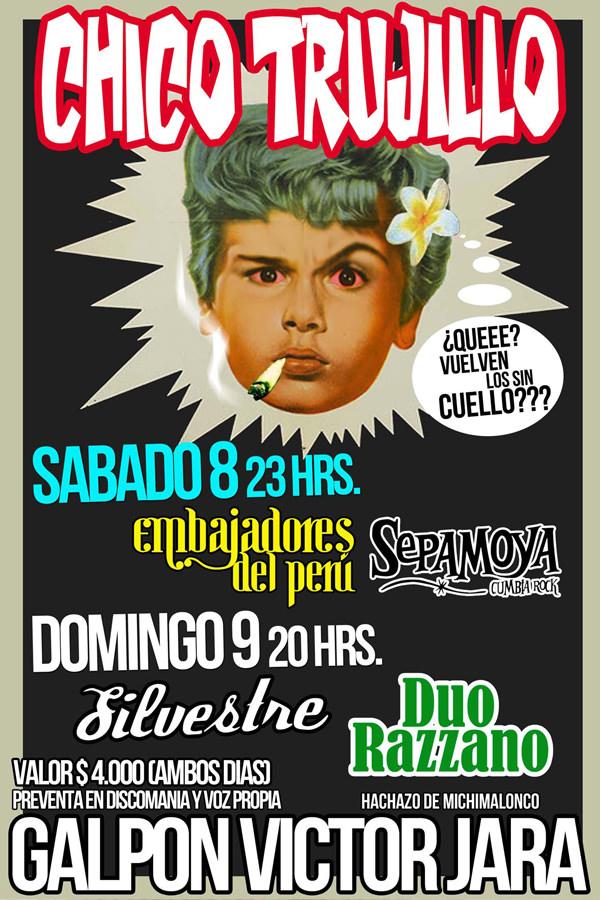 Silvestre & Chico Trujillo en vivo 1