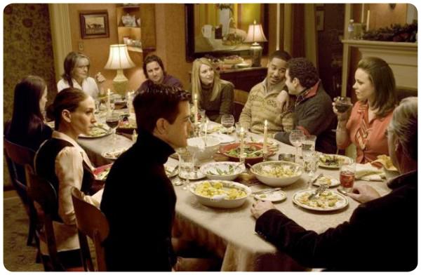 The Family Stone: la comida navideña y la familia 3