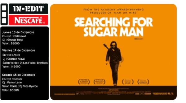 IN-EDIT Nescafé 2012: entradas para Searching for Sugar Man y noches en bar Loreto 1