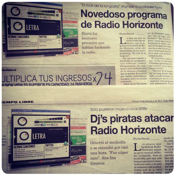 El Rock de la Langosta, el nuevo programa (sin horario fijo!) de radio Horizonte 3