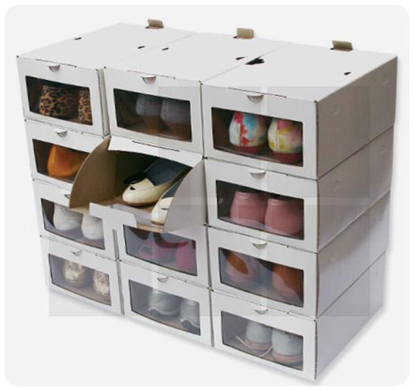 Cajas enorden la verdadera soluci n para guardar los for Muebles para guardar zapatos y botas