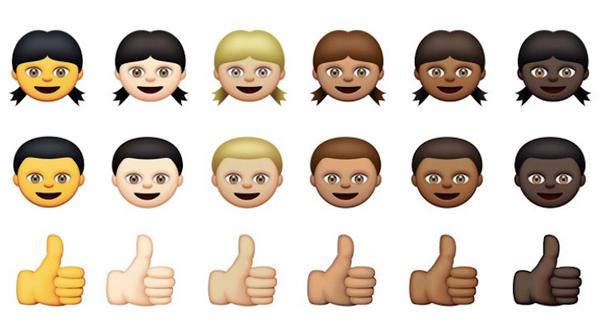 Emojis-diverse