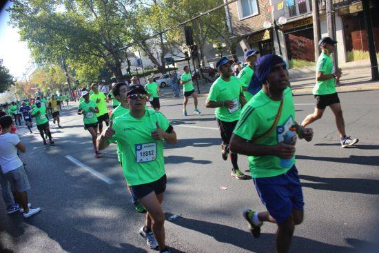 Fotos del Maratón de Santiago 2015 15