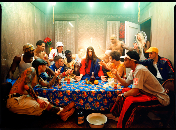 Last Supper, 2003 Chromogenic Print ©David LaChapelle