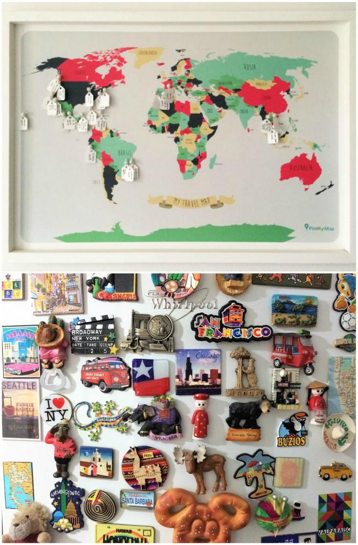 Decorar con recuerdos de viajes zancada lo que for Articulos decoracion casa