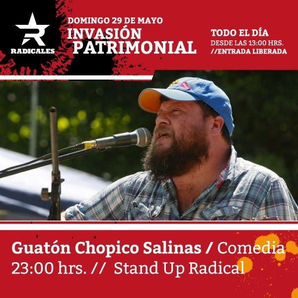 Invasión patrimonial en Radicales 24