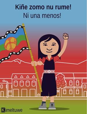 Las diferentes ilustraciones de #NiUnaMenos 15