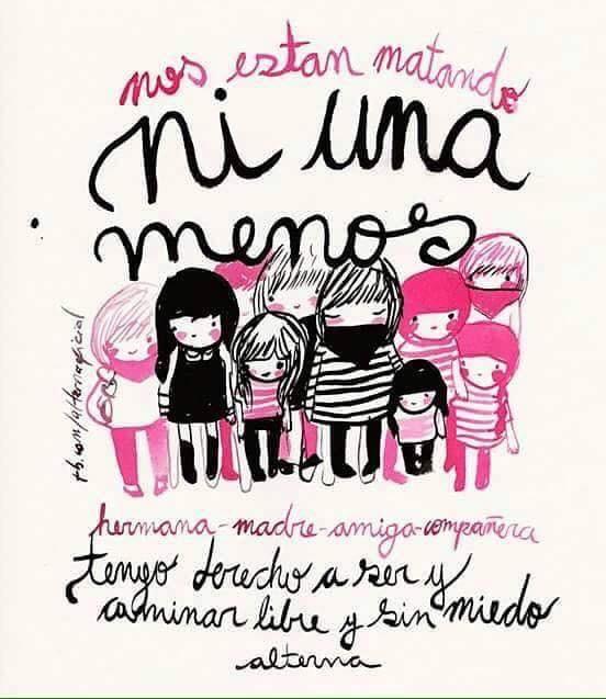 Las diferentes ilustraciones de #NiUnaMenos 4