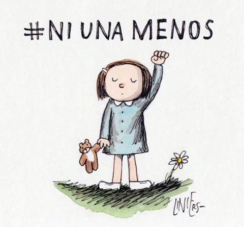 Las diferentes ilustraciones de #NiUnaMenos 16