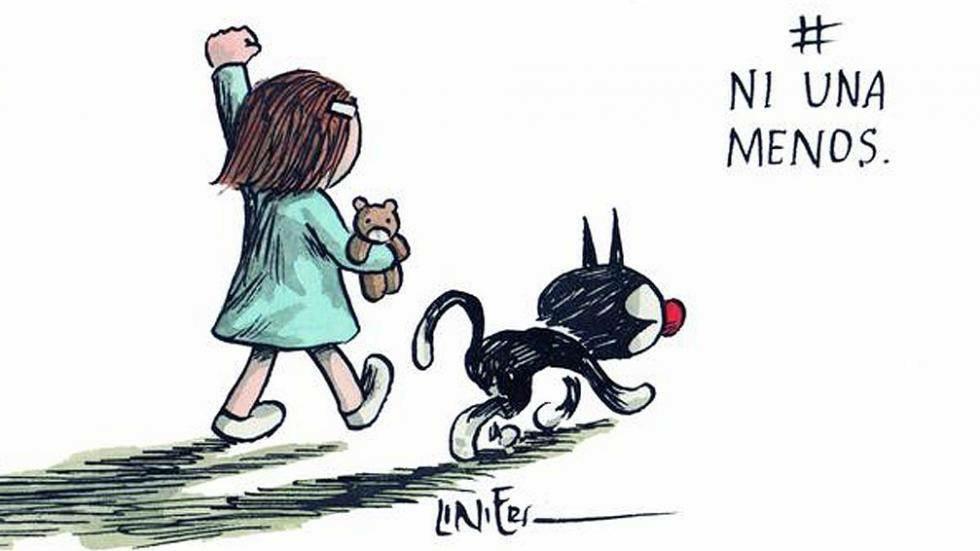 Las diferentes ilustraciones de #NiUnaMenos 8