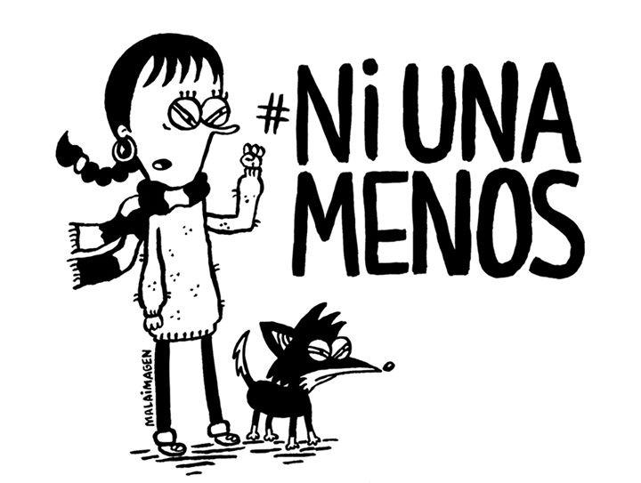Las diferentes ilustraciones de #NiUnaMenos 12