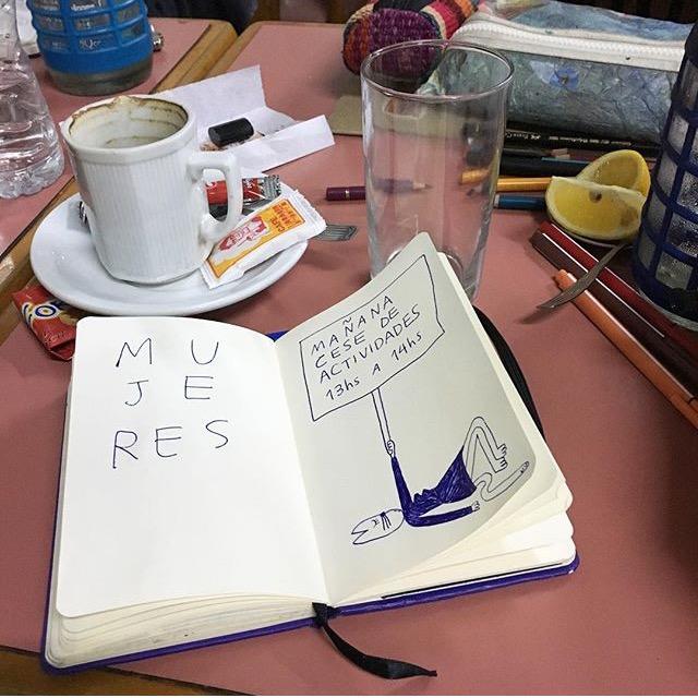 Las diferentes ilustraciones de #NiUnaMenos 13