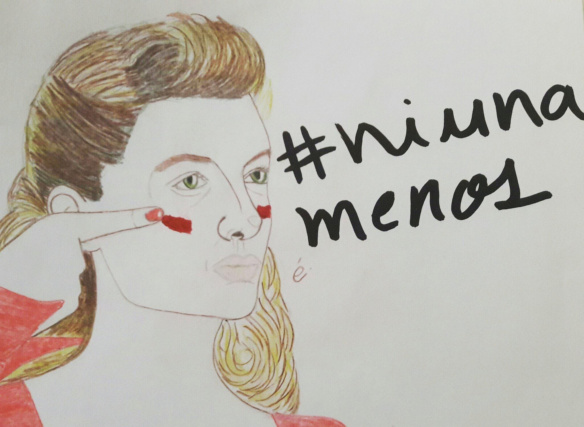Las diferentes ilustraciones de #NiUnaMenos 10