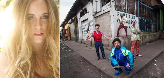 Consuelo Schuster y Chancho en Piedra en Claro Verano 1