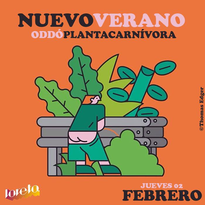 """Cierre del ciclo """"Nuevo Verano"""" con Planta Carnívora y Oddó en Loreto"""