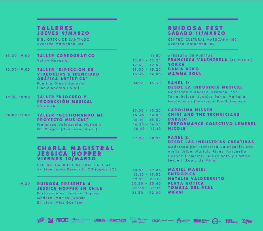 Ruidosa Fest SCL 2017