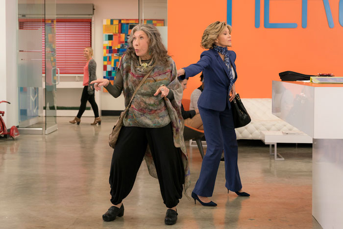 Grace and Frankie, 3era temporada