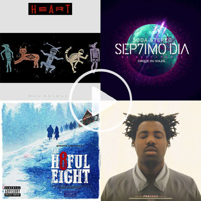De Sep7imo Día a Sampha, en las recomendaciones musicales de Rodrigo Hurtado