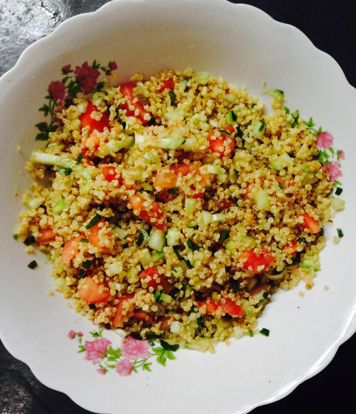 Receta fácil y rica: tabulé de quinoa 3