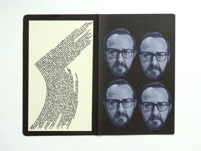 Juan José Richards y la exposición de su diario de lectura 2