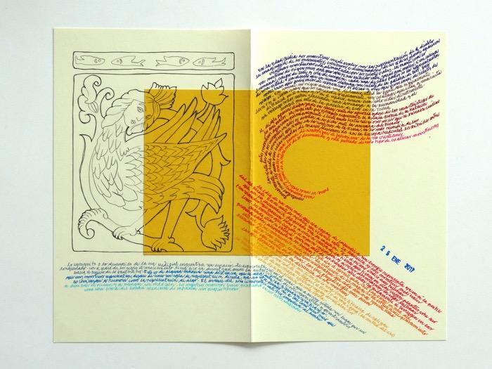 Juan José Richards y la exposición de su diario de lectura 1