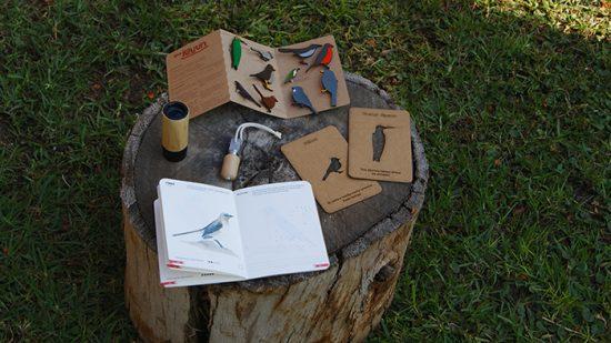 Wudko: diseño para conocer a las aves chilenas 1