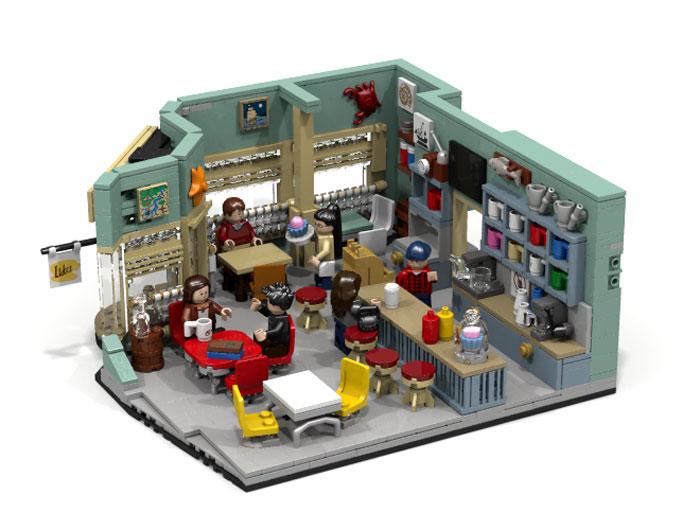 ¿Te comprarías un set LEGO de Gilmore Girls? 1
