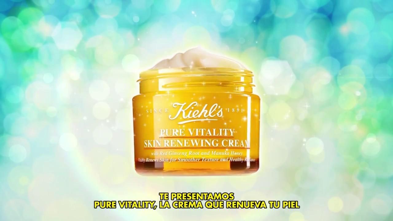 Pure Vitality de Kiehl's, la crema que renueva la piel