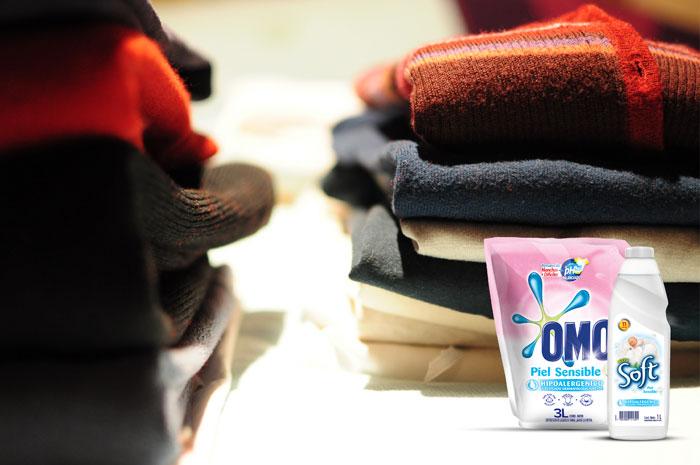 Cuida tu ropa y tu piel con Omo piel sensible 1