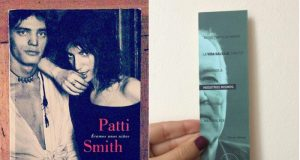 Patti Smith y Werner Herzog
