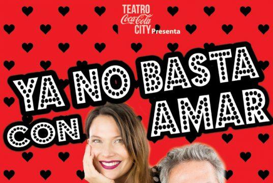 """Catherine Mazoyer y Pato Strahovsky juntos en la obra """"Ya no basta con amar"""""""