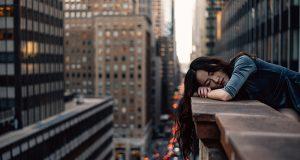 quedarse dormida en el trabajo