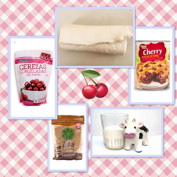 Receta: Crostata rústica de cerezas 1